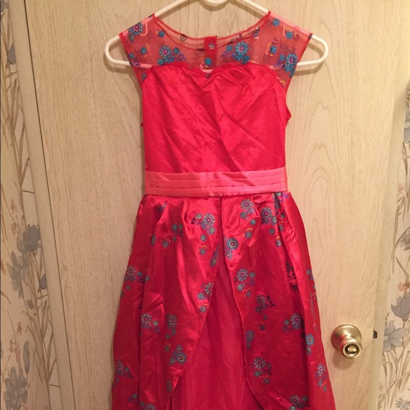 Disney Costumes | Deluxe Elena Of Avalor Ball Gown Dress M | Poshmark
